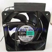 Original Japan MRS16 DTA 16062 16CM 39/41/51W 0.24/0.25A 3300rpm 7.3m3/min 157Pa Cooling fan air blower for Inverter cabinet