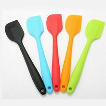Baking Spatula Mini Small Kitchen Silicone Soup Spoons Cake Cream Spatula Scraper Brush Butter Baking Tool