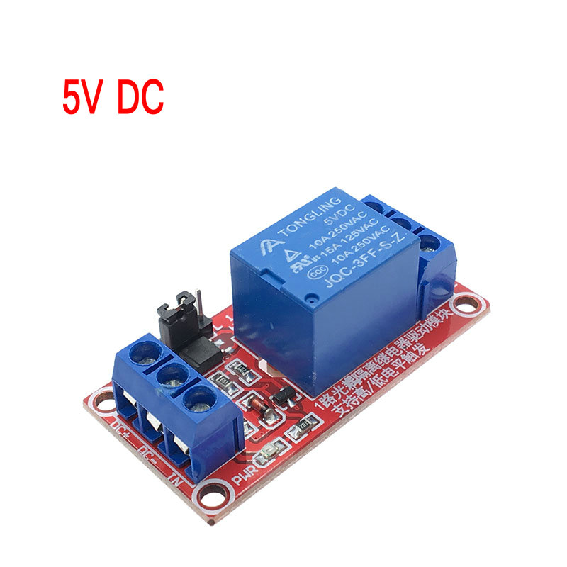 1pc Channel 5/12V Relay Module Board Shield for Arduino with Optocoupler Support High and Low Level Trigger