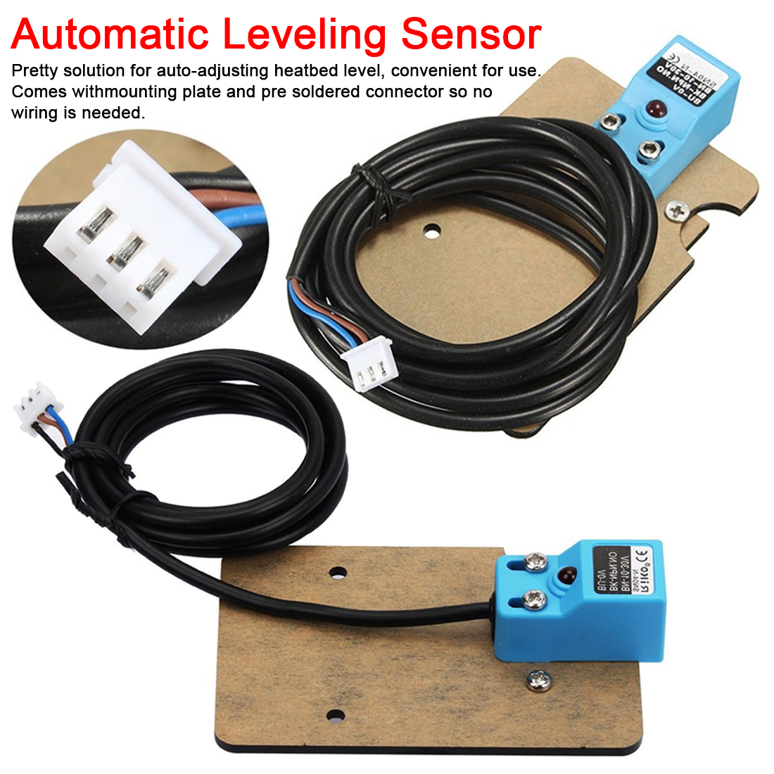 1 Set Of Automatic Leveling Position Sensor 3D Printer Part Accessories For Anet A8 1.75mm Pla Filament