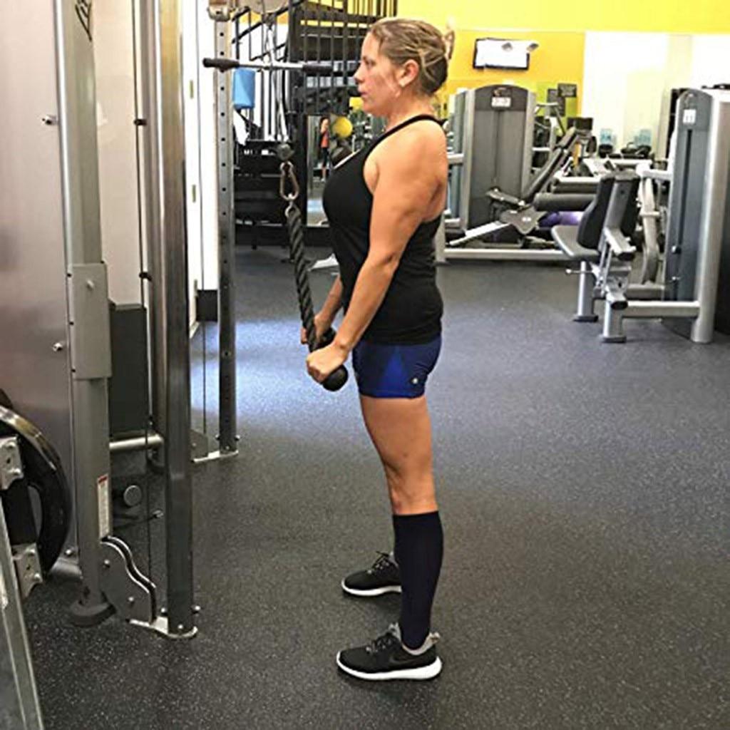 Knee High Compression Socks Burning Stone for Women and Men Sport Crew Tube Socks
