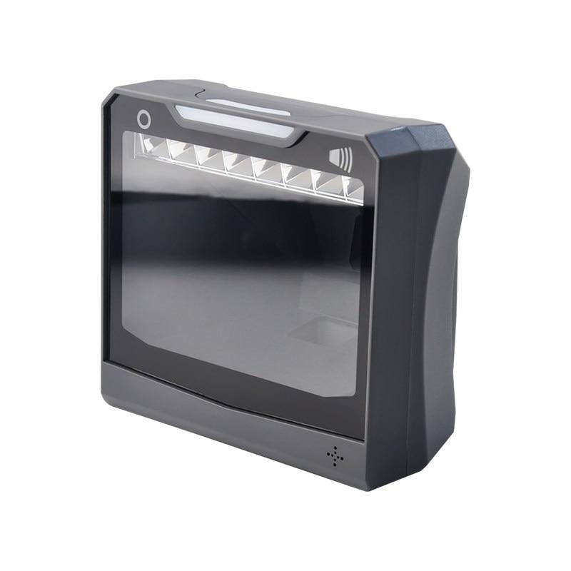 Handfree 1D/2D Ticketing QR Barcode Scanner omni-directional Barcode Scanner Platform Original Designer 4600 Desktop Auto Sense