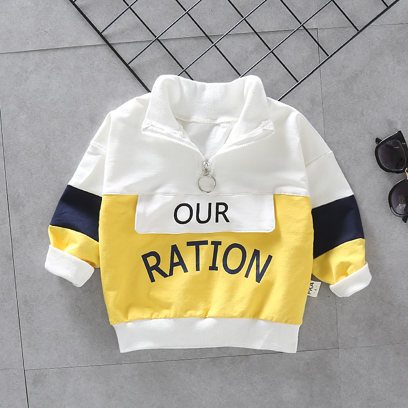 Fashion Baby Boys Autumn Winter Set Kids Hooded Coats Pants 2pcs Outfit Children Letter Splicing Suit Infant Casual Clothes 4