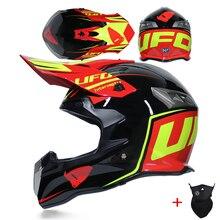오토바이 헬멧 모토 크로스 풀 페이스 헬멧 남자 익스트림 스포츠 오토바이 ATV 먼지 자전거 MX BMX DH 레이싱 오프로드 헬멧