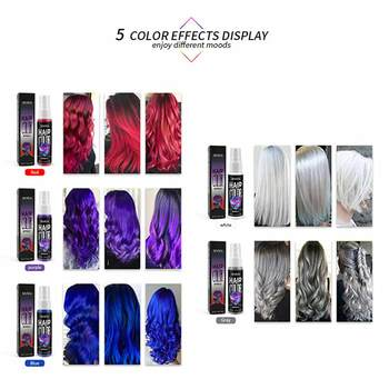 Instant Hair Color Style Disposable Hair Dye Unisex Quick Spray Party Disposable Temporary Hairstyle Hair Dye Spray airdressing