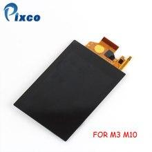 Pixco Için M3 M10 lcd ekran Ekran Için Canon IÇIN EOS M3 M10 dijital kamera Onarım Bölümü + Arka Işık + Dokunmatik
