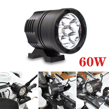 Voor Bmw F800 R1200 Gs Adventure F800 R Gt S St 60W Motorfiets Led Light 9 48V extra Koplamp Driving Drl Fog Lamp 4000LM
