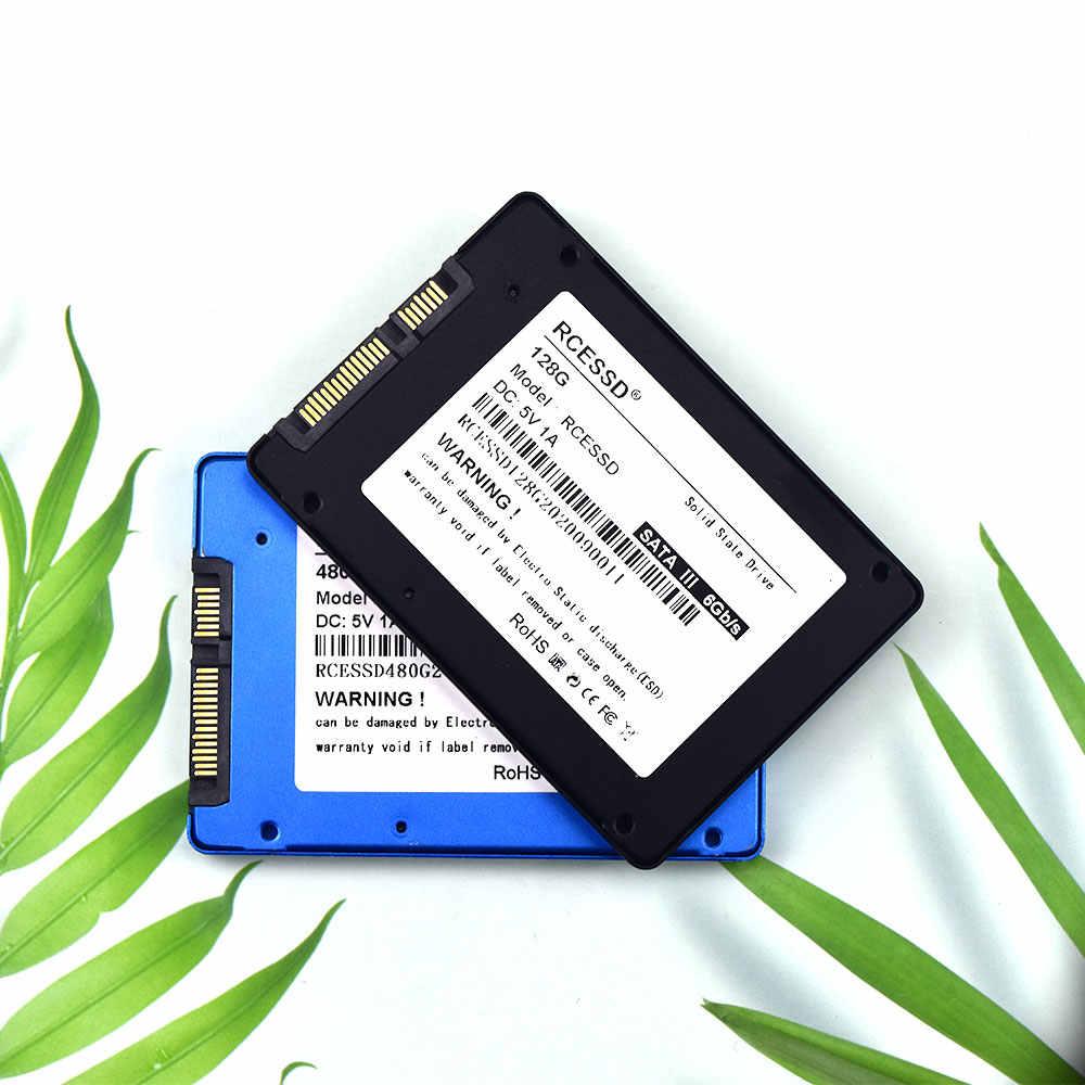 מתכת SSD 120GB 128GB 240GB 256GB 2.5-אינץ SATA3 360GB הפנימי HDD 64GB 480GB SSD SATAIII 512GB מחשב