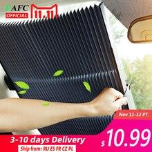 Auto Versenkbare windschutzscheibe Sonnenschutz Block sonnenschirm abdeckung Vorne Hinten fenster folie Vorhang für Solar UV schützen 46/65/70cm