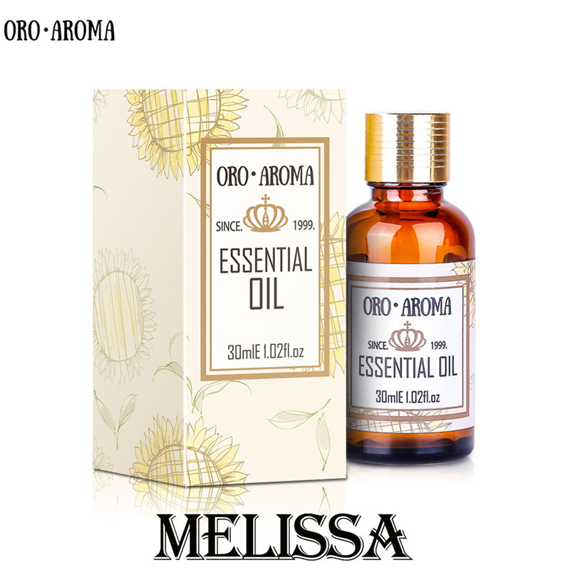 Famous Brand Oroaroma Natural Melissa Essential Oil Skin Has A Healthy Luster Cure Eczema Lowering Blood Pressure Melissa Oil
