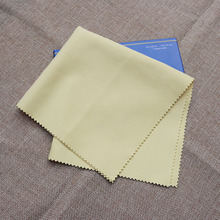 8.8 US Dollars 5pcs Large Silver Jewelry Cleaning Cloth Professional Authentic Silver Polishing Cloth Polishing Tool  30*30CM