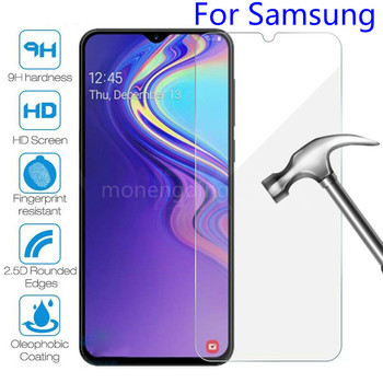 9H Protective Glass On For Samsung Galaxy A51 A71 A21S A01 A11 A21 A31 A41 Screen Protector For Samsung A30 A50 M11 M21 M31 Film image