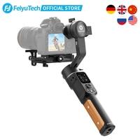 FeiyuTech stabilizzatore DSLR AK2000C ufficiale 3 assi fotocamera stabilizzatore cardanico piastra di rilascio pieghevole per Canon Sony Panasonic Nikon