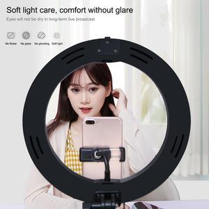 Image 5 - LANBEIKA 10 pouces 26cm USB 3 Mode LED Selfie anneau lumière photographie vlog vidéo lumière pliable support trépied et support de bureau