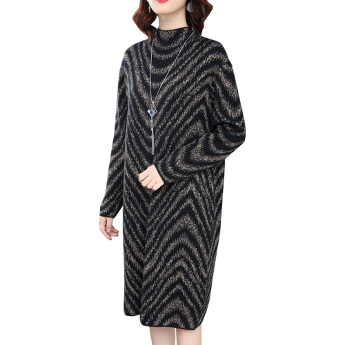 Knitted Sweater Dress  3