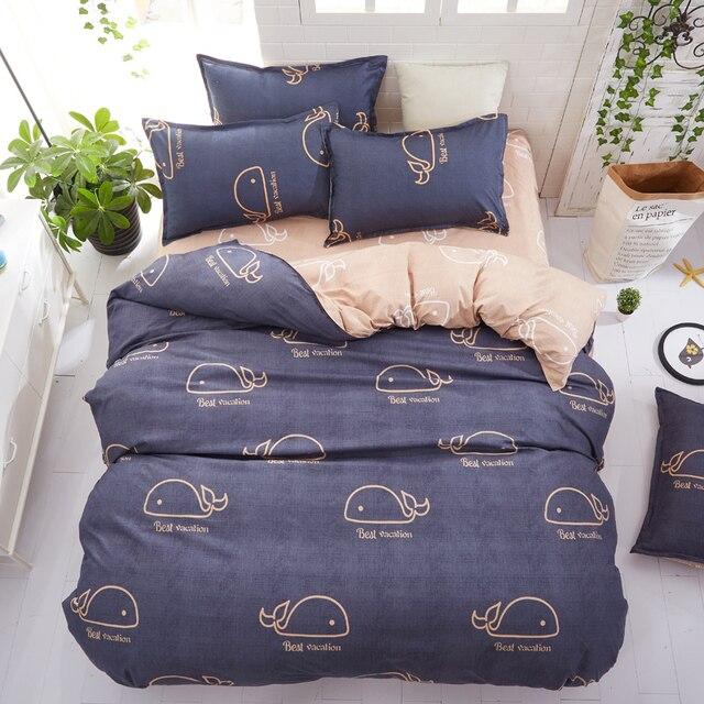 Classic Bedding Set Blue Whales