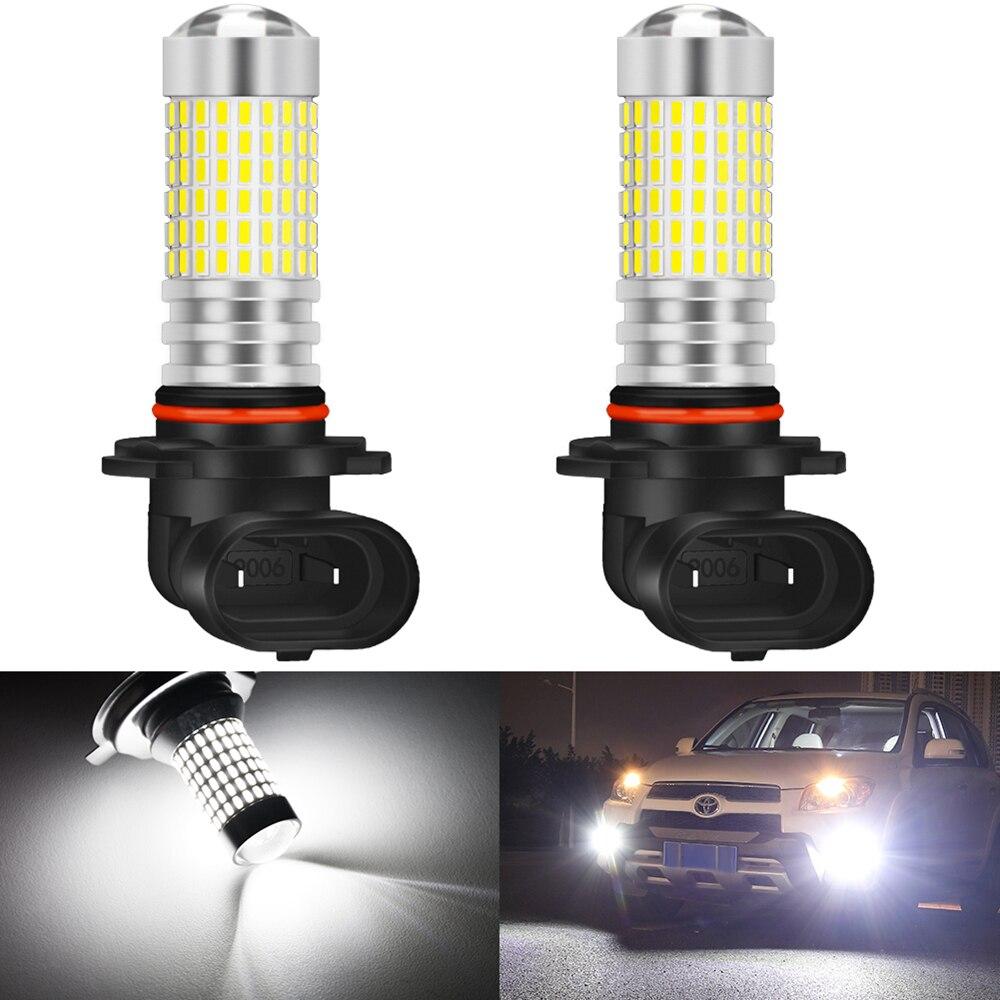 2 pièces 9005 9006 LED Antibrouillards H8 H11 HB3 HB4 H10 PSX24W 9145 Pour Ford Mustang Échapper Transit KA Ecosport MK2 Mk3 Lampoule de Lampe de Voiture