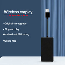 Wireless Apple Carplay Dongle Android Auto Carplay Smart Link USB Android Bildschirm Adapter Navigation Media Player Mirrorlink