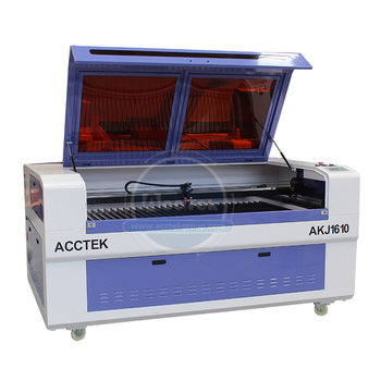 Acctek-máquina De Corte A láser Co2 1610, máquina De grabado láser Cnc con controlador Ruida láser, productos en oferta De fábrica