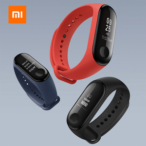 Image 2 - Xiaomi Mi Band 3 Smart Wristband with Fitness Tracker Heart Rate Moniter OLED Bluetooth Sports Bracelet Water Resistant Miband 3