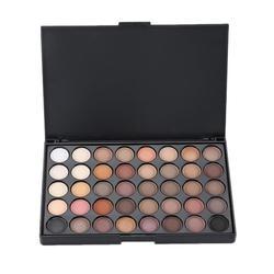 40 цветов матовые тени для век Палитра блестящие тени для век водостойкие стойкие поддоны для макияжа мерцающие модные красивые TSLM1