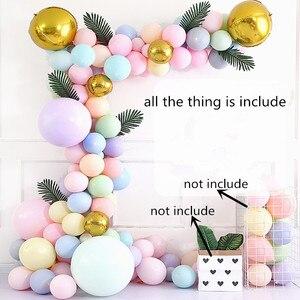 Image 1 - Bahçe çiçek tarzı Parti Balonlar düğün/nişan/yıldönümü/thirthday parti dekorasyon pembe, altın, gümüş, mor