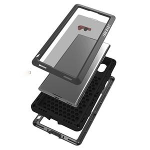 Image 5 - Full Body Case For Sony Xperia XA1 Plus Ultra XZ XZ1 XA2 XA Ultra 2 Shockproof Metal Armor Cover For Sony XA Case +Gorilla Glass