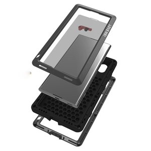 Image 5 - Для sony Xperia XA1 чехол Ultra Plus XZ XZ1 противоударный Алюминий Металл Полный Броня для sony Xperia XA чехол XA2 ultra + гориллы Стекло чехол на sony xperia xa  xa1 xa2 ultra Plus XZ XZ1