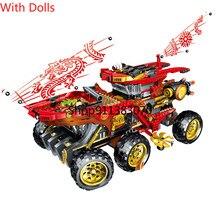 Nuevo 858 Uds tierra recompensa camión modelo bloques de construcción con las cifras 70677 Compatible bricolaje ladrillos juguetes para los niños