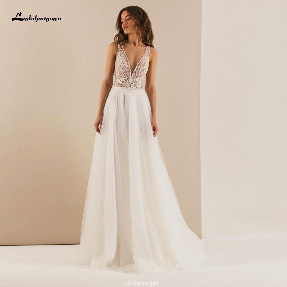 Robe De Mariage Boho Bride Dress 2020 Summer Beach Wedding Dresses Deep V Neck Luxury Beads Tulle Long Wedding Gowns Hochzeit Wedding Dresses Aliexpress,Wedding Dressing Table