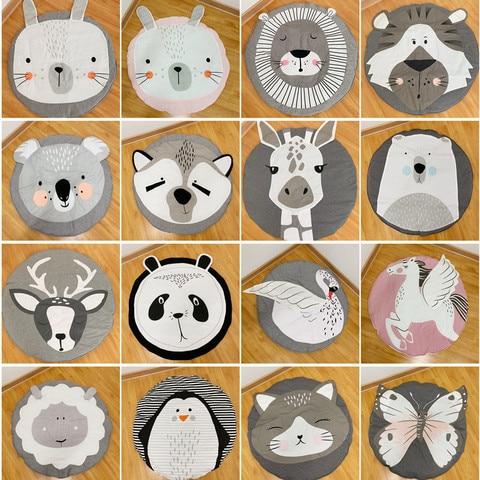 herbabe almofada da esteira do jogo do bebe brinquedos da crianca dos desenhos animados animais