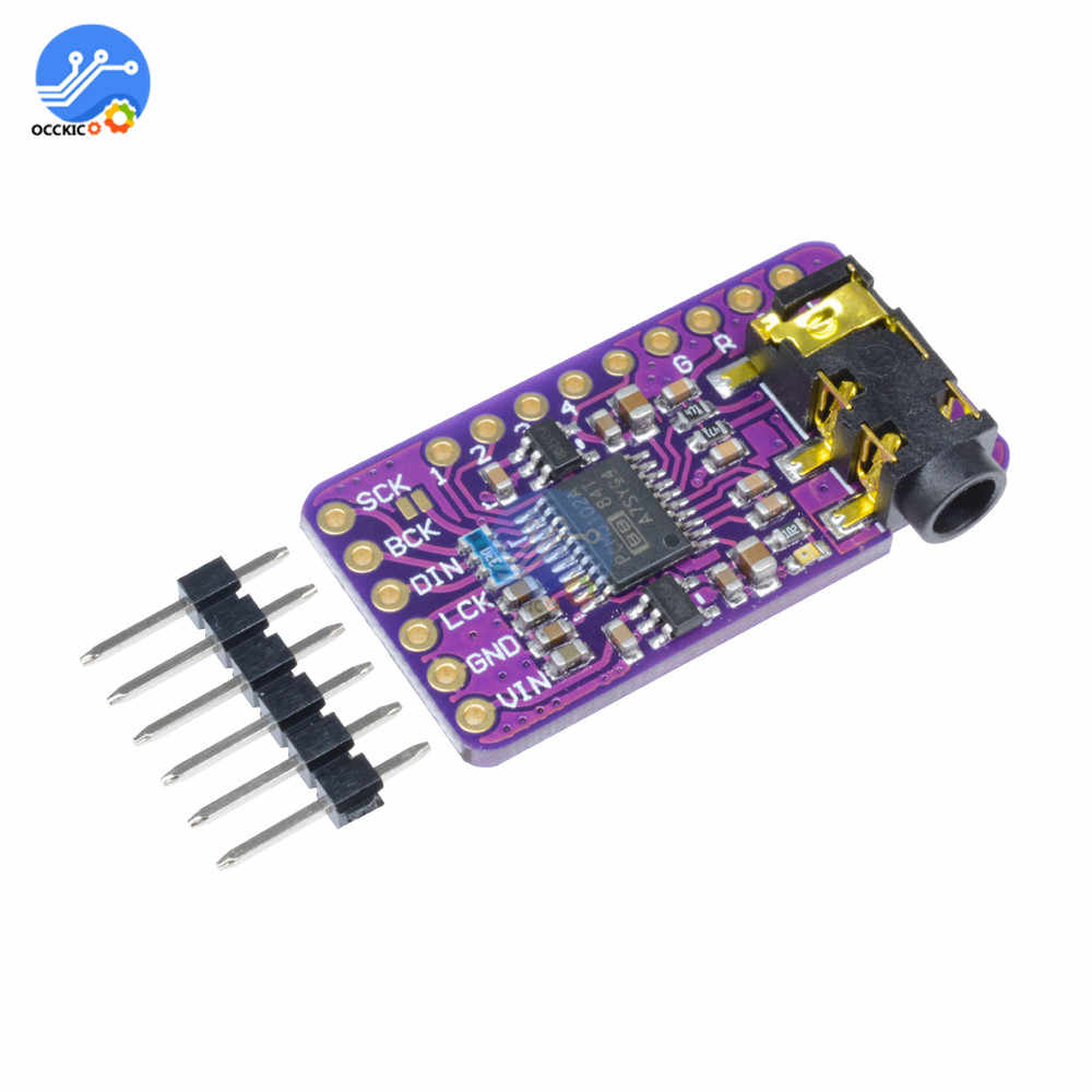 PCM5102 Decoder Board GY-PCM5102 I2S Interface Speaker Audio Sound Board Amplifier Player Module DAC for Raspberry