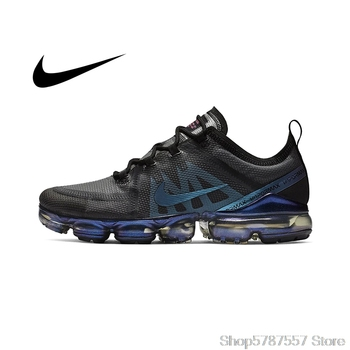 Original Authentic Nike Air VaporMax 2019 Mens Running Shoes Breathable Outdoor Sports Comfortable Quality AR6631-001