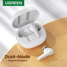 UGREEN – écouteurs intra-auriculaires sans fil HiTune T1 TWS, oreillettes Bluetooth, 4 micros, ENC HiFi stéréo, Mode basse Up, charge rapide USB-C
