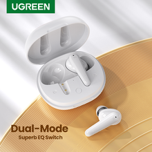 Ugreen Hitune T1 Tws Echte Draadloze Oordopjes 4 Microfoons Bluetooth Oortelefoon Enc Hifi Stereo In-Ear Bass Up Modus USB-C Quick Opladen