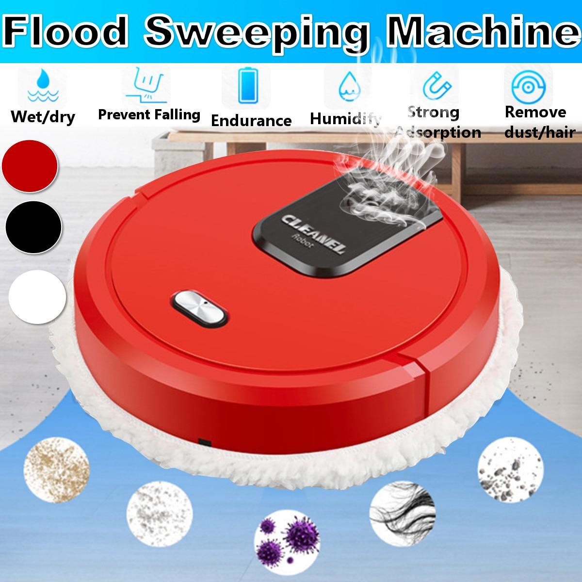 Полностью автоматический робот-пылесос, умная уборка пропиткой, робот-пылесос с USB-зарядкой для сухой и влажной уборки, аэрозольный распыли...