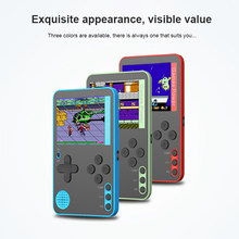 500 jogos mini portátil retro console de vídeo handheld jogo avançado jogadores menino 8 bit built-in gameboy 2.4 Polegada tela lcd a cores