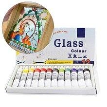 12ml 12 kolory szlane farby ręcznie malowane akrylem pigmenty rysunek rury zestaw artysta dostaw sztuki dla początkujących