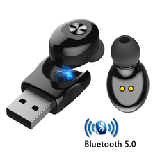 XG12 Bluetooth 5.0 słuchawki Stereo bezprzewodowe douszne HIFI Sound Sport słuchawka Mini połączenie bezprzewodowe zestaw słuchawkowy z mikrofonem na wszystkie telefony