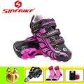 SIDEBIKE pro cycling schoenen roze sapatilha ciclismo mtb SPD Pedalen 2019 vrouwen Ultralight zelfsluitende riding fietsen sneakers