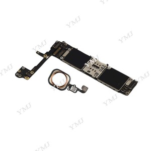 Image 4 - Full unlocked for iphone 6S 6 S Motherboard With/Without Touch ID,Original for iphone 6S Mainboard with Full Chips,16GB 64G 128G