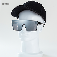 CHUZICI Oversize Square Sunglasses Women Fashion Flat Top Gradient Glasses Men