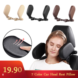 Car Neck Headrest Pillow Cushion Seat Support Head Restraint Seat Pillow Headrest Neck Travel Sleeping Cushion For Kids Adults