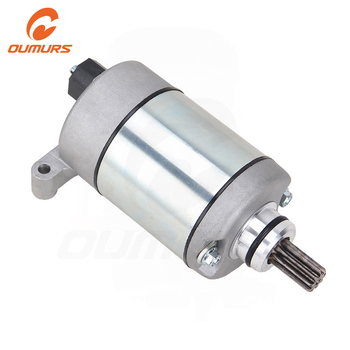 OUMURS Motorcycle Starter For Yamaha ATV Grizzly 550 YFM550 Grizzly 700 YFM700 686cc Engine 2009 2010 2011 2012-2017 28P81890000