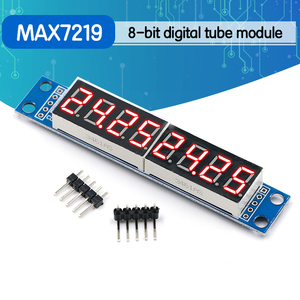 MAX7219 LED Dot Matrix 8 Digit Digital Tube Display Control Module For Arduino 3.3V 5V Microcontroller Serial Driver 7-segment(China)