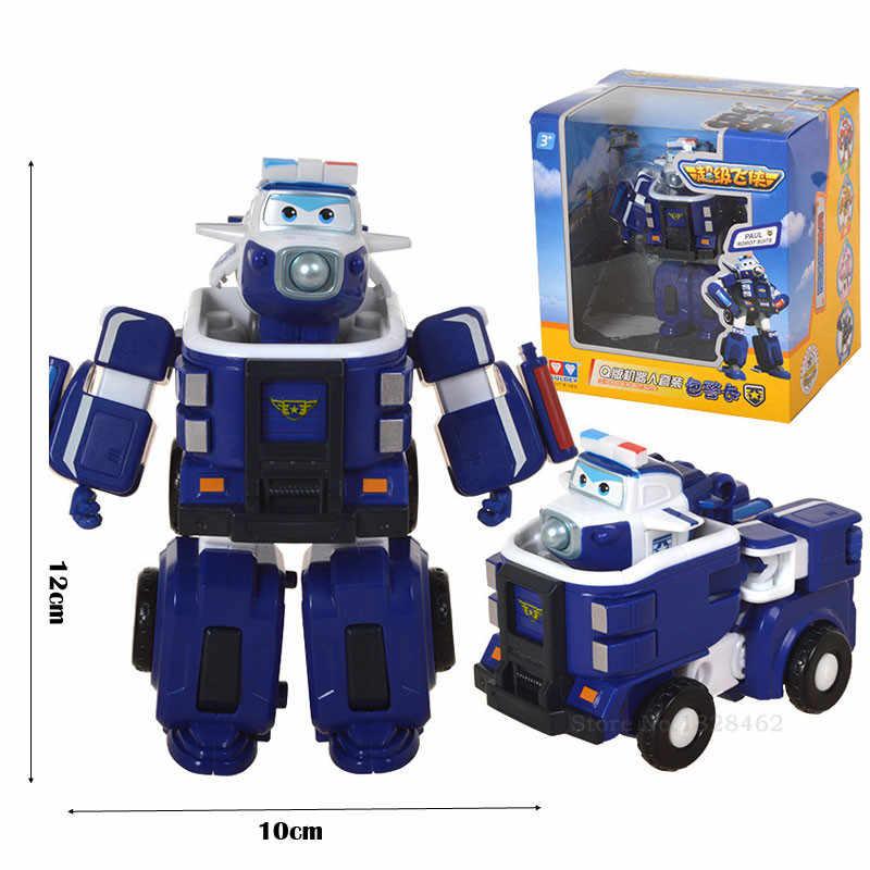 Più nuovo Grande Deformazione Armatura Super-ali di Salvataggio Robot Action Figures Super Ala Trasformazione Vigili del Fuoco Giocattoli