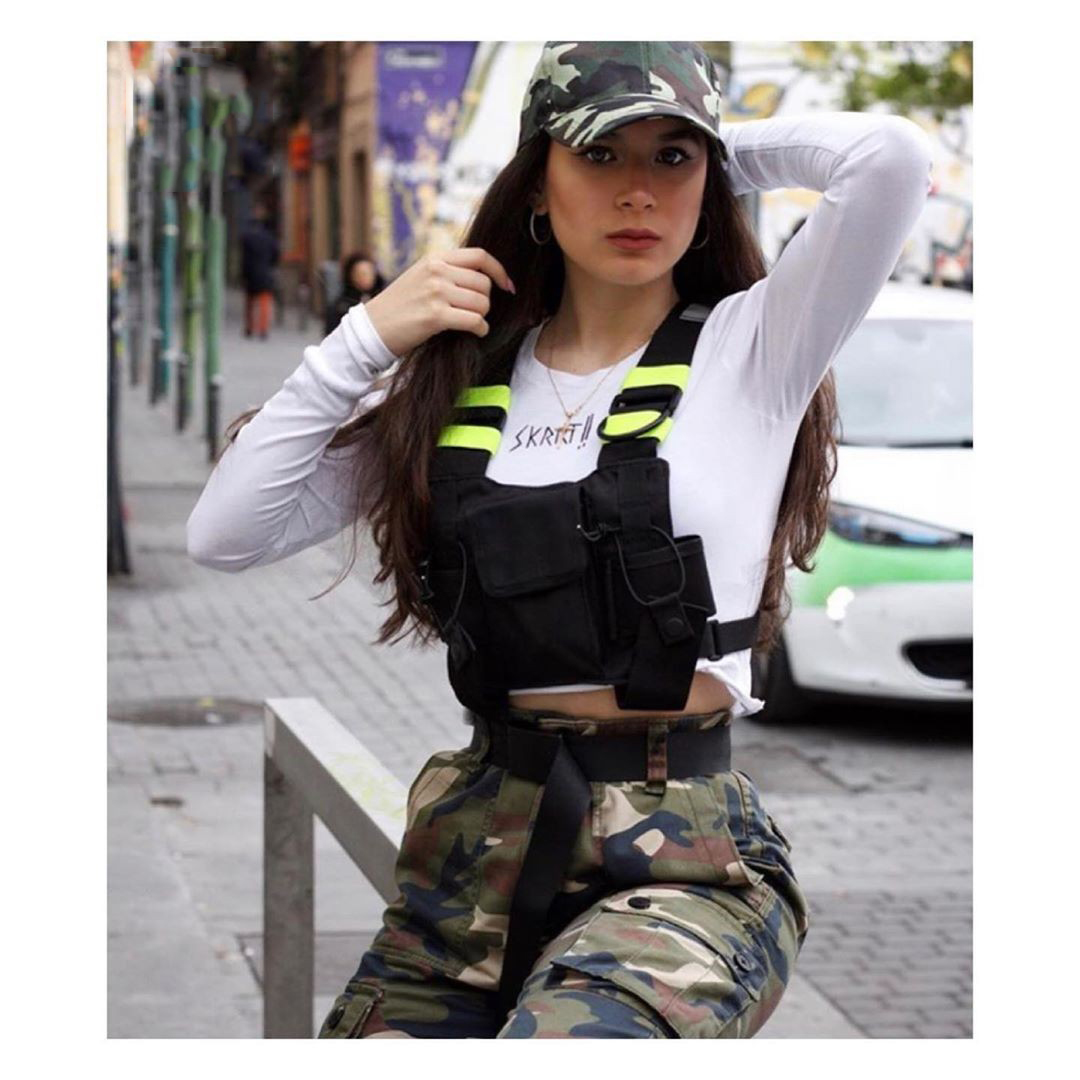 H43ee28ce98804dcb9ae487aabc8b6376T - Fashion Men Chest Rig Bag Male Functional Hip Hop Black Vest Bag Women Tactical Streetwear Bags Female Waist Packs G131