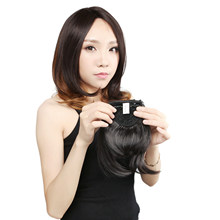 "Neitsi 8"" Synthetic Straight Bangs Heat Resistant 2# High Temperature Fiber Role Play Female Wig Bangs(China)"