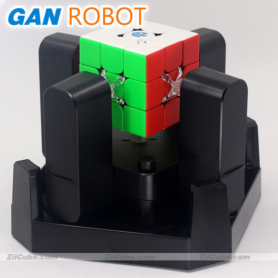 Magic Cube Puzzle GAN ROBOT Station App GAN 356 I 356xs Magnets Online Competition Reduction Help Machine