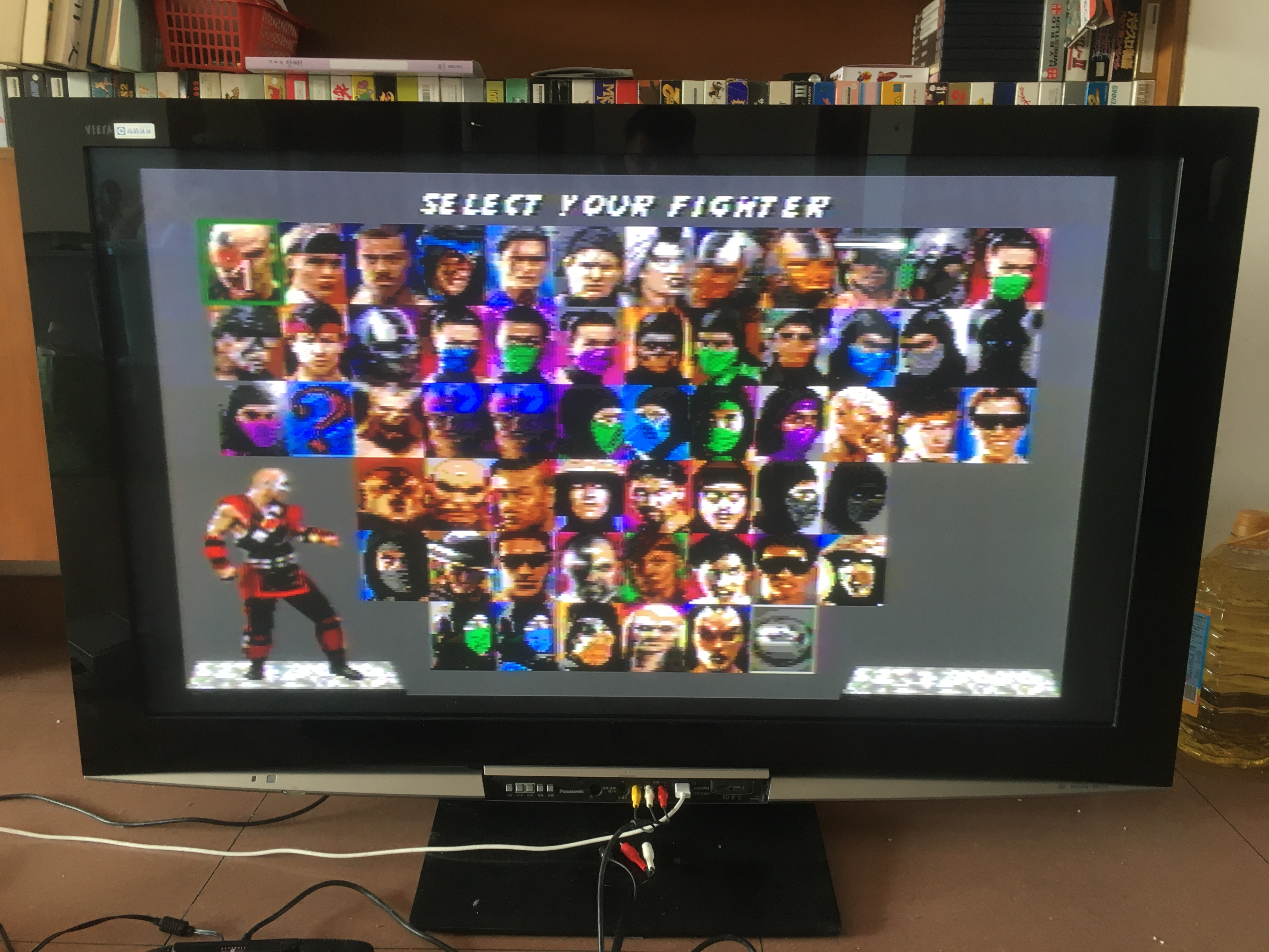 MD Game : Ultimate Mortal Kombat TRILOGY ( 58 characters!! ALL REGION!! )